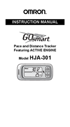 Omron Healthcare GOSMART HJA-301 User Manual