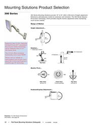Ergotron 300 Arm, Keyboard/Laptop Pivot. Black 45-098-200 User Manual