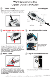 Wahl Haircutting 79650-1201 Leaflet