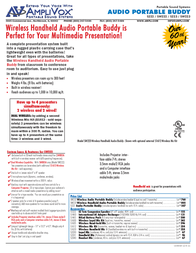 AmpliVox SW223 Leaflet