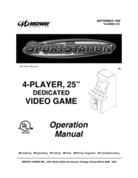 Midway SPORTSTATION 16-40094-101 User Manual