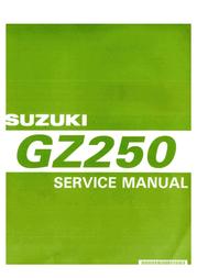 Suzuki gz250 User Manual