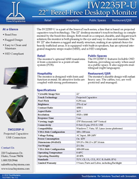 TouchSystems IW2235P-U Leaflet