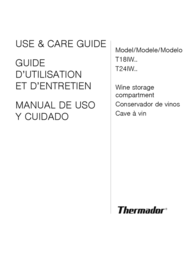 Thermador T18IW Instruction Manual