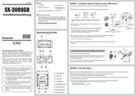 Silex Technology Network USB server LAN (10/100 Mbps), USB 2.0 SX-DS-3000U1 Leaflet