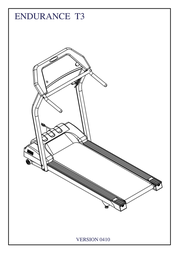 Body Solid ENDURANCE T3 410 User Manual