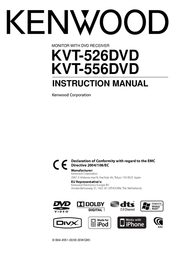 Kenwood Electronics KVT-526DVD User Manual