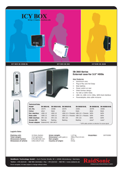 Raidsonic ICY BOX IB-360STS-BL Leaflet