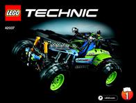 Lego Technic LEGO® TECHNIC 42037 FORMULA OFF-ROADER 42037 User Manual
