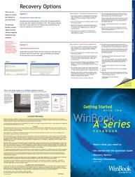 WinBook a100 Quick Setup Guide
