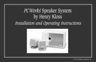 Cambridge SoundWorks PCWorks Speaker System User Manual