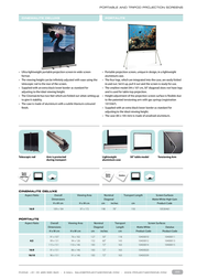 Projecta CinemaLite 10530461 Leaflet