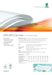 All cart UPM DIGI Color laser 5070A Leaflet