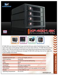 Kingwin KF-4001-BK Leaflet