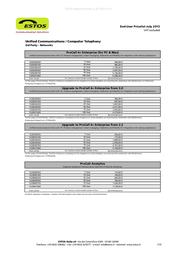ESTOS ECSTA 4.0 6000040250 User Manual