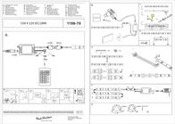 Paul Neuhaus Decorative Lighting 1198-70 1198-70 Data Sheet