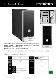 Tacens PRIOR 2PRIOR Leaflet