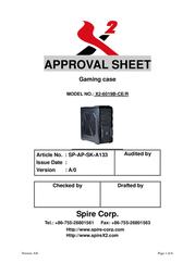 X2 6019B-CE-R X2-6019B-CE/R User Manual
