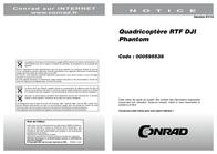 DJI Quadcopter RtF incl. GPS U4000 Data Sheet