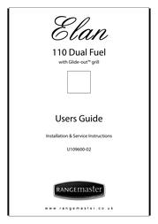 Rangemaster 110 DUAL FUEL U109600-02 User Manual