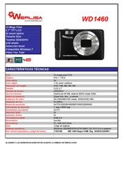 Werlisa WD 1460 1103100 Leaflet