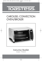 Toastess Carousel Convection Oven/Broiler TTO652 User Manual