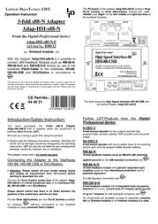 Ldt Adap-HSI-s88-N Data Sheet