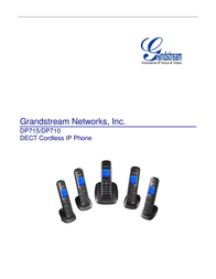 Grandstream cordless VoIP-telephone DP715 User Manual