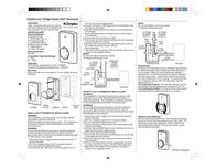 Dimplex TS521W Leaflet
