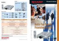 Sharp PG-M20S+ GRATIS DVD Speler PG-M20S-BU Leaflet