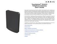 Arris TG1672 User Manual