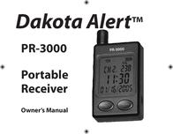 Dakota Alert Inc. Stereo Receiver Portable Receiver User Manual
