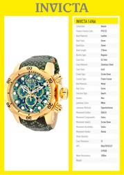 Invicta 14966 Specification Guide