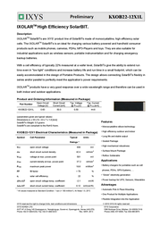 Ixys KXOB22-12X1 KXOB22-12X1L Data Sheet