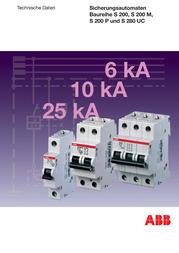 ABB Circuit breaker B 16A 2CDS251001R1165 Information Guide