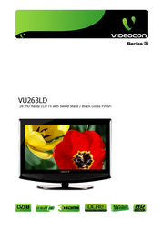 Videocon VU263LD User Manual
