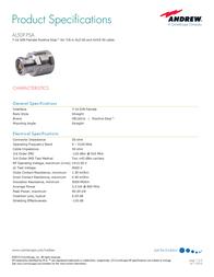 Andrew AL5DF-PSA User Manual