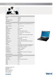 Tarox 0906089 User Manual