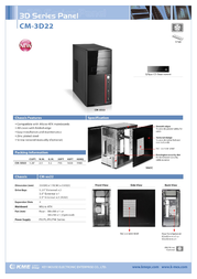 K-mex CDM-3D22 CDM-3D22-RED Leaflet