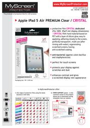 MyScreen CRYSTAL 5907996009107 产品宣传页