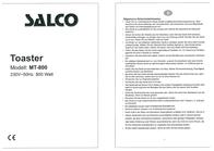 Salco MT-800 User Manual
