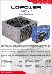 LC-Power LC6350 V1.3 LC6350 Leaflet