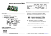 Emis SMCflex-ME1000 Motor Driver End Step Modules SMCflex-ME SMCflex-ME1000 Data Sheet
