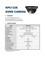AVTECH KPC132E Leaflet