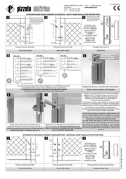 Pizzato Elettrica HC LL Hingesswitches Series PALLADIO Joint hinges without short switch contacts. - HC LL Leaflet