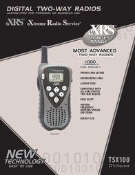 TriSquare TSX100 Leaflet
