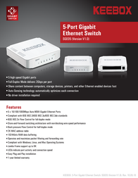 KEEBOX SGE05 User Manual