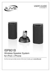 GPX ISP801B User Manual