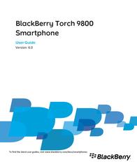 BlackBerry 9800 PRD-33326-009 User Manual
