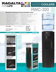 Ragalta RWC-320 RWC320 Leaflet